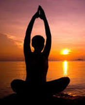 burn fat with yoga