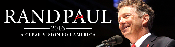 Rand Paul Announces Plans to run for President